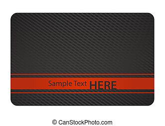 negro, vip, tarjeta, con, vendimia, patrón, y, dorado, etiqueta