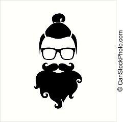 negro, white., hipster.