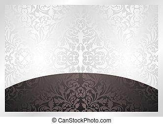 negro y blanco, plano de fondo