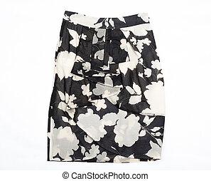 negro y blanco, women\'s, skirt.