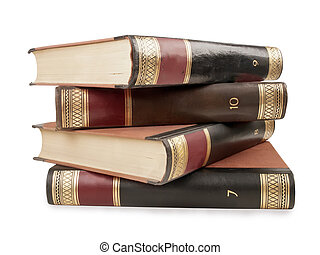 nehéz, könyv, tomes