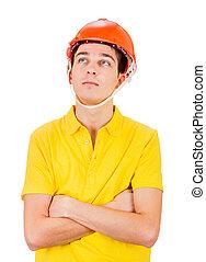 nehéz kalap, fiatalember