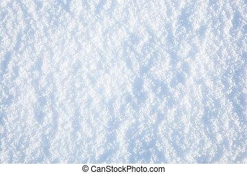 neige, fond