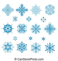 neige, icônes