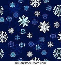 neige, seamless, vecteur, fond