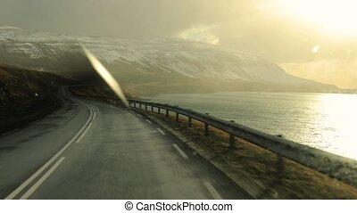 neiger, conduite, islande