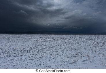 neiger orage