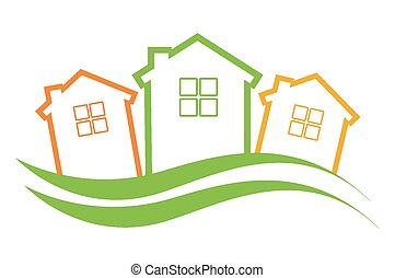 neighborhood design, vector illustration eps10 graphic