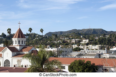 Neighborhood Hollywood - A view of the eastern part of...