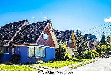 Neighborhood in Valdivia
