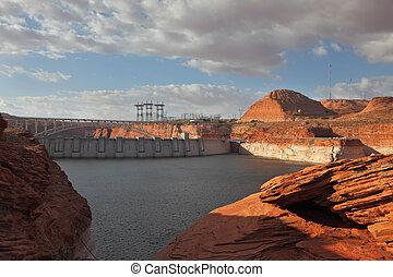Neighborhood of Glen Canyon Dam