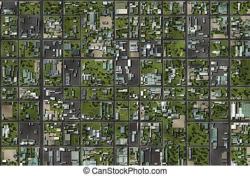 Neighborhood Suburbs Area as a Home Background