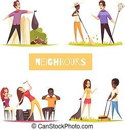 Neighbors 2x2 Design Concept