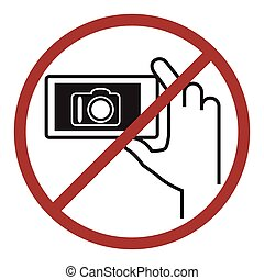 nein, photographie, icon.