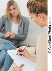neki, gyógyász, hangjegy írás, csipeszes írótábla