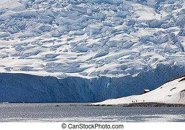 Neko Harbor Glacier - Antarctic Peninsula - Antarctica