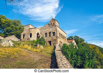 Nekresi, historic monastery in Kakheti, Georgia