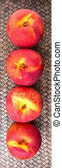 nektarin, frukt