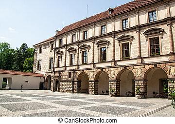 Nelahozeves chateau, Czech Republic