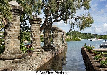 Nelsons Dockyard, Antigua and Barbuda, Caribbean - Nelsons...