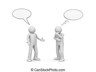 nemzedék, beszélgető