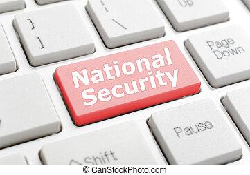 nemzetbiztonság, billentyűzet