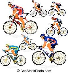 nemzeti, biciklista