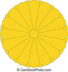 nemzeti emblem, közül, japán