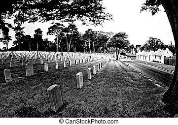 nemzeti, francisco, temető, szanatórium