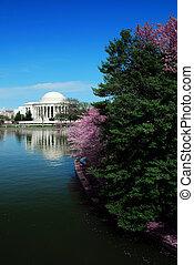 nemzeti, jefferson, washington dc dc, emlékmű