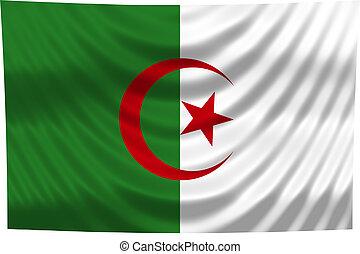 nemzeti lobogó, algéria