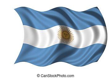 nemzeti lobogó, argentína