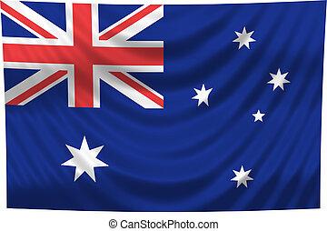 nemzeti lobogó, ausztrália
