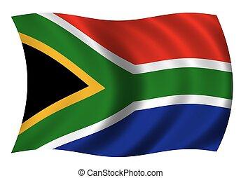 nemzeti lobogó, dél-afrika