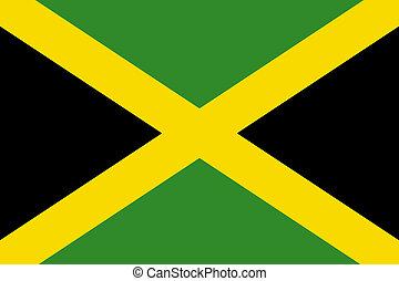 nemzeti lobogó, jamaica
