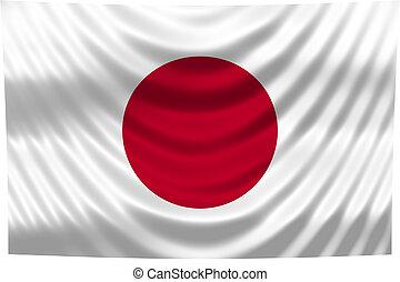 nemzeti lobogó, japán