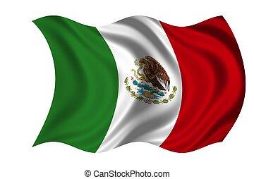 nemzeti lobogó, mexikó