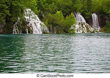 nemzeti park, plitvice, horvátország