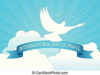 nemzetközi jelkép, béke, nap