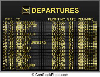 nemzetközi repülőtér, indulások, bizottság, noha, minden,...