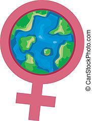 nemzetközi, women's, hónap
