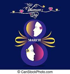 nemzetközi, women's, nap