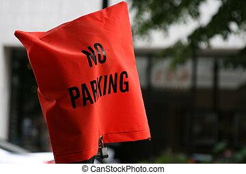 nenhum estacionamento