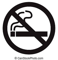 nenhum fumar