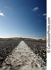 nenhuma parte, estrada
