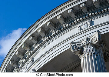 Neo Classic Architecture - Close up of Neo Classical Style...