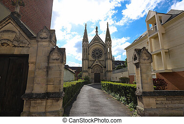 Neo Gothic Chapel of Saint-Joseph in Beauvais, France