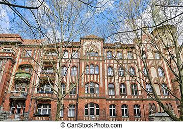 neo gothic house in Berlin Kreuzberg