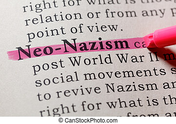neo-nazism, 定义