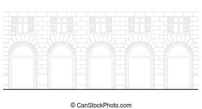 neo-renesans, architektura